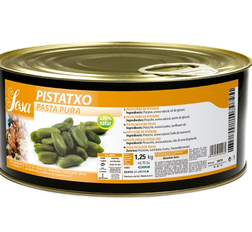 pasta de pistachio 1,25kg